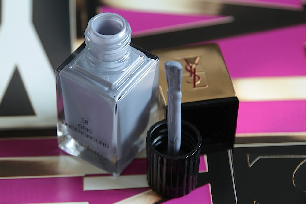 yves saint laurent ysl vernis gris underground 38 automne fall 2013