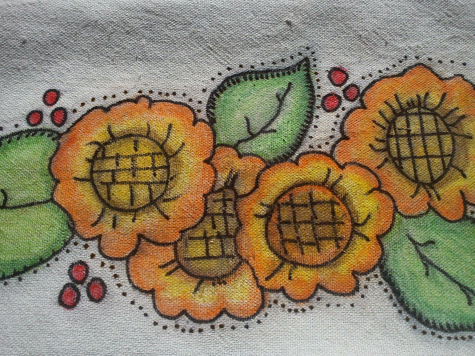 Amado Pintura em tecido com Giz de Cera ! SM08