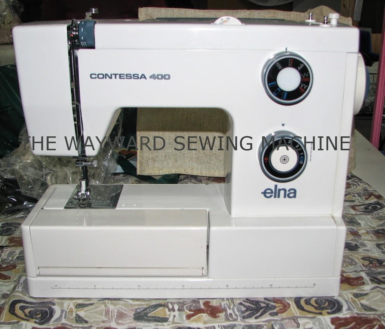 the wayward sewing machine elna contessa 400 rh waywardsewingmachine blogspot com