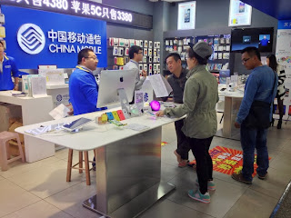 Apple iPhone 5s and 5c in China