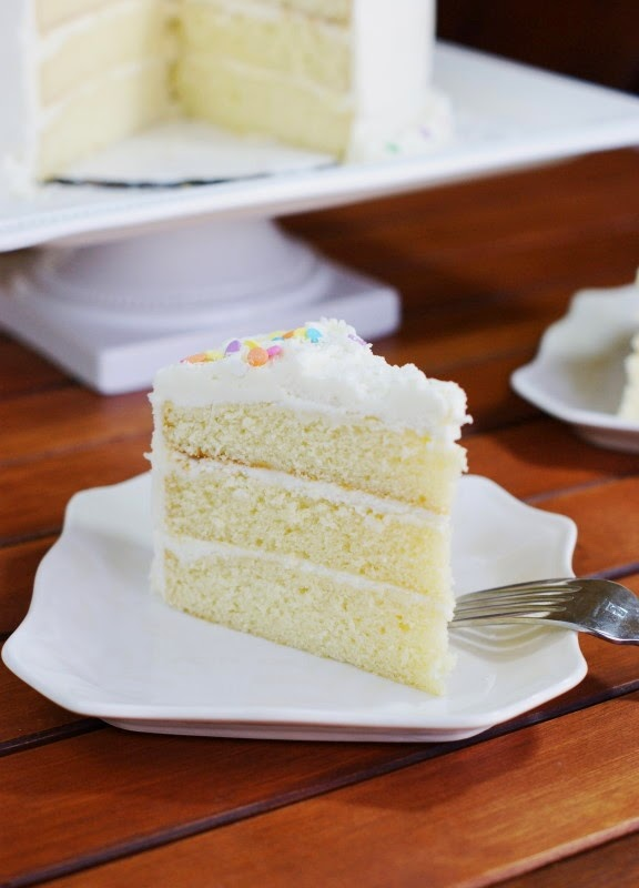White Chocolate Birthday or Easter Cake The Kitchen is My
