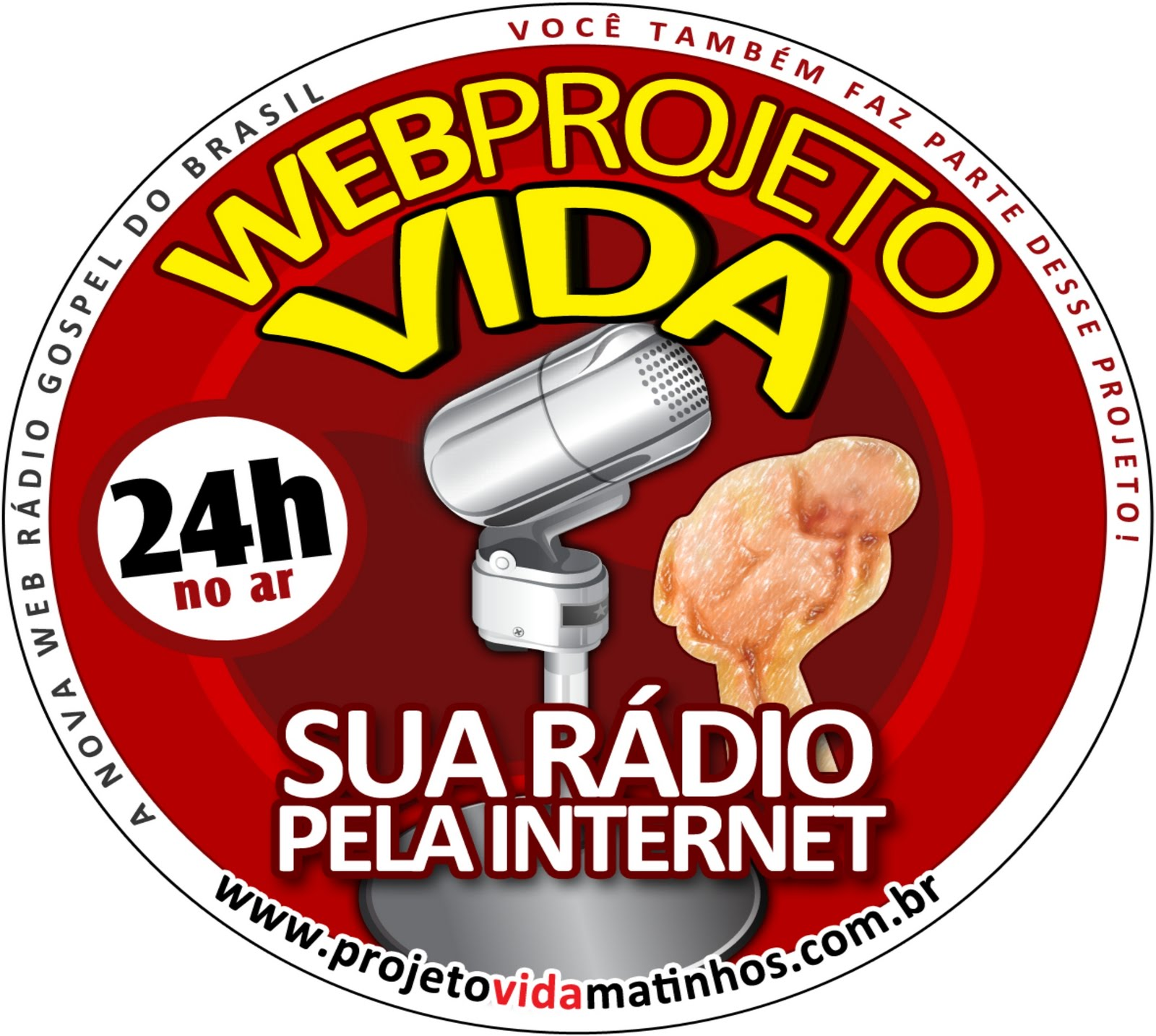 WEB RÁDIO PROJETO VIDA