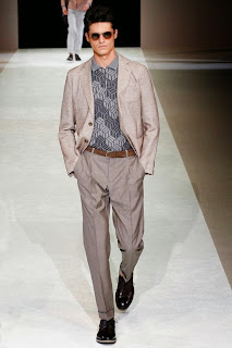 Milán Fashion Week, Spring 2015, Giorgio Armani, menswear, Made in Italy, Suits and Shirts,
