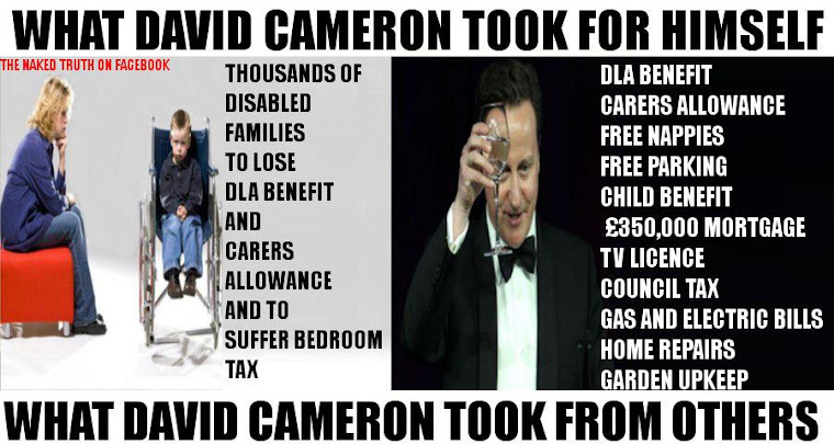 What Cameron Took For Himself!