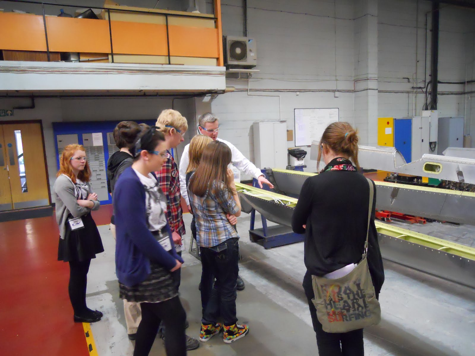 Design And Technology Year 10 Trip To Cav Aerospace Consett