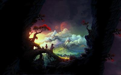 Bienvenidos al más allá - Descubriendo nuevos mundos - Fantasy art