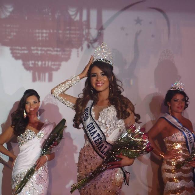 Miss Guatemala Universe 2013 winner Andrea Paulette Samayoa Muy