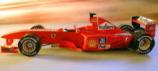 Car - Ferrari F1 2000 Papercraft