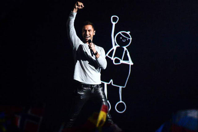 Måns Zelmerlöw, concierto, madrid, barcelona, eurovision