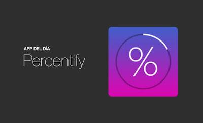 Aplicación Percentify Gratuita