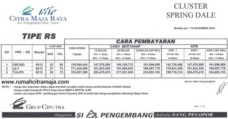 Image Result For Citra Maja Price List