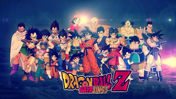 Dragon Ball Z Saiyans 9d