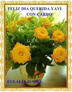 Esta felicitación es de mi amiga Eulalia: