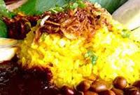 Resep Nasi Kuning dan Sambal