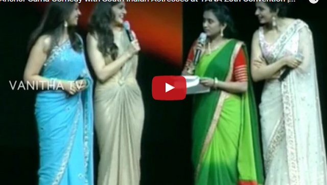 Anchor Suma Comedy with South Indian Actresses | Watch Video