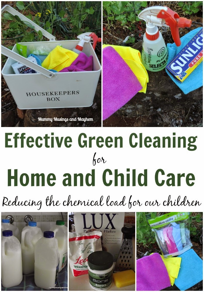 Effective and hygienic green cleaning tips for home and childcare services - mummy musings and mayhem.com