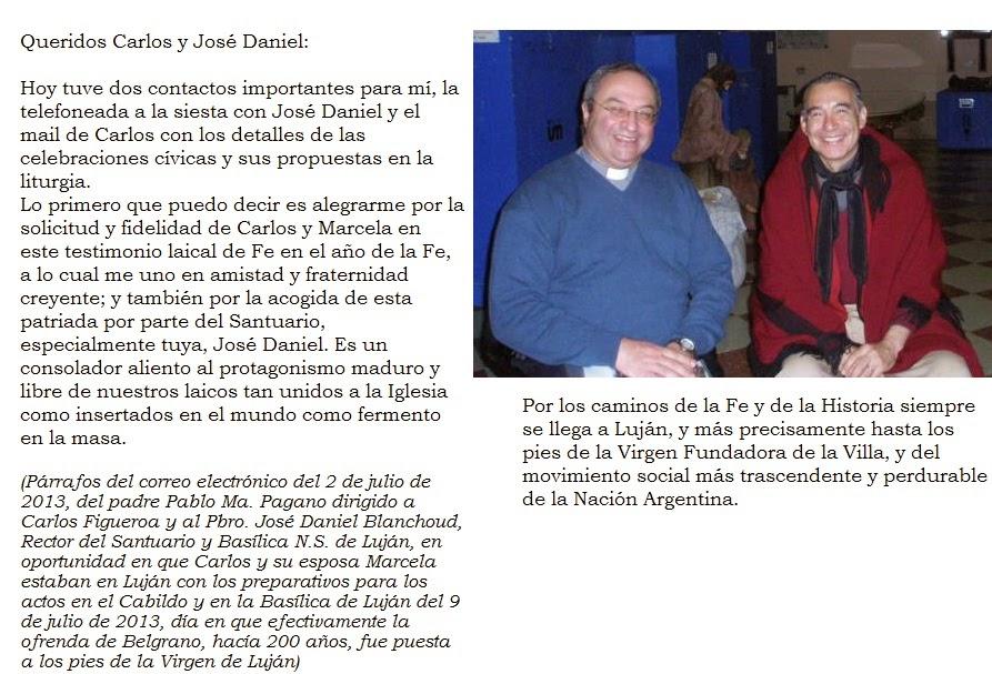 PADRE JOSÉ DANIEL BLANCHOUD Y CARLOS FIGUEROA