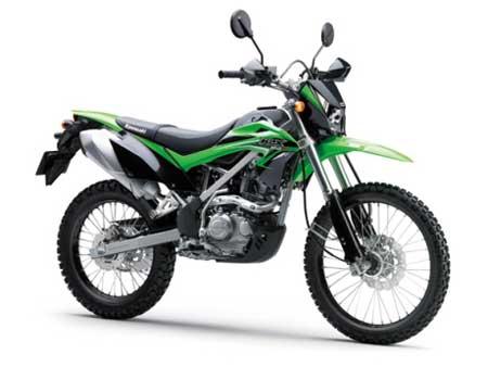 kawasaki klx 150 BF Green