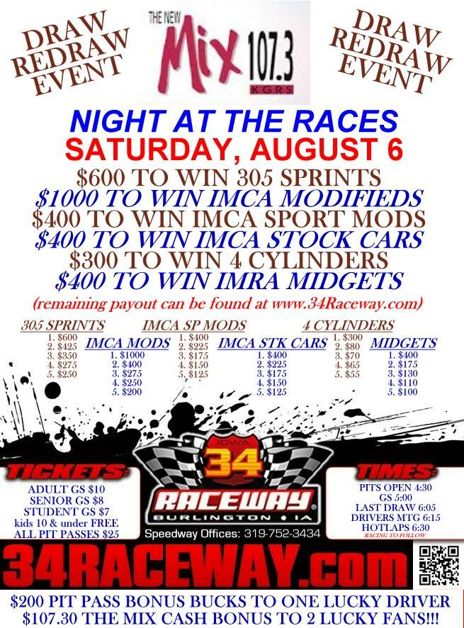 The New Mix 107.3 Night At The Races