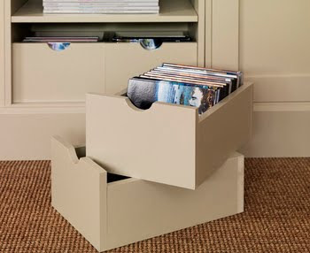 storage boxes for record albums