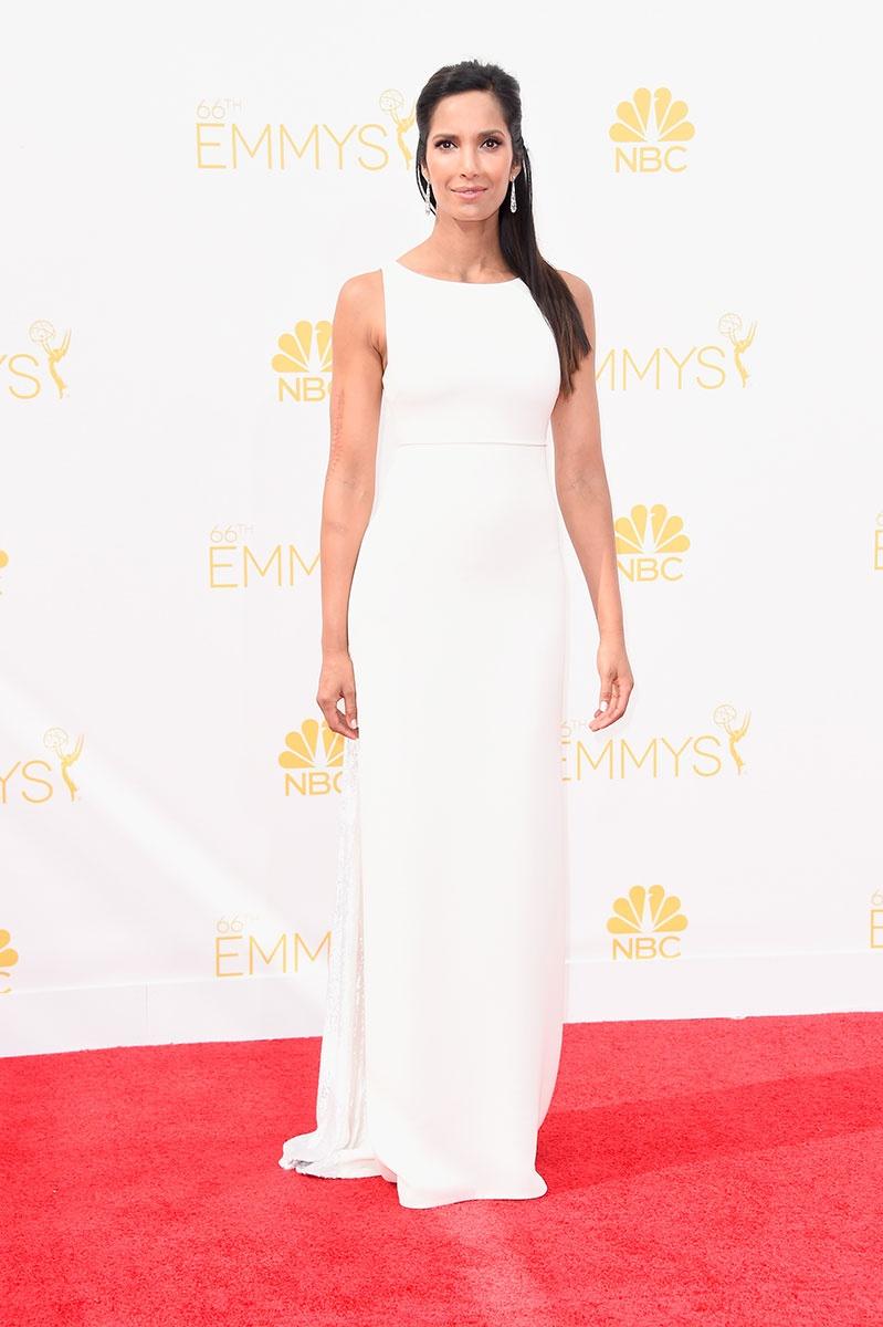 66th Emmys- Padma Lakshmi in Ralph Rucci