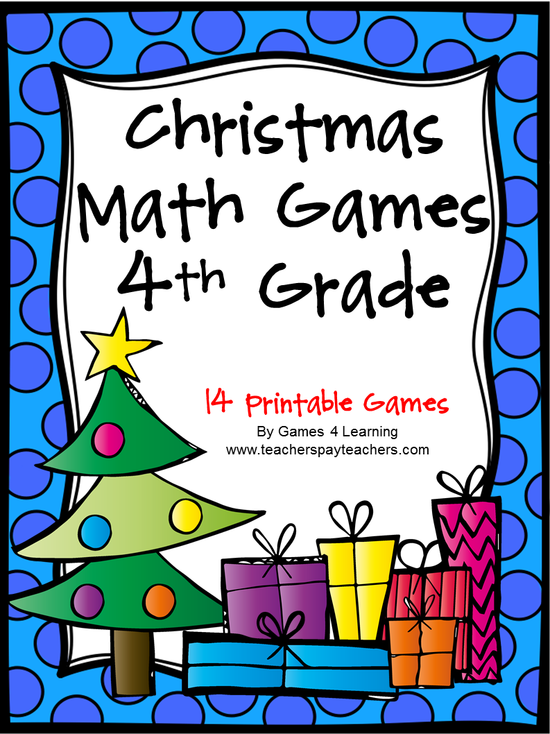 Fun Games 4 Learning: No Prep Christmas Math Freebies