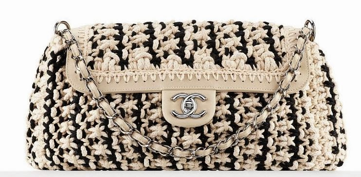 Crochet Fancy Bags : chics filles: CHANEL CRUISE 2014 FANCY CROCHET BAGS