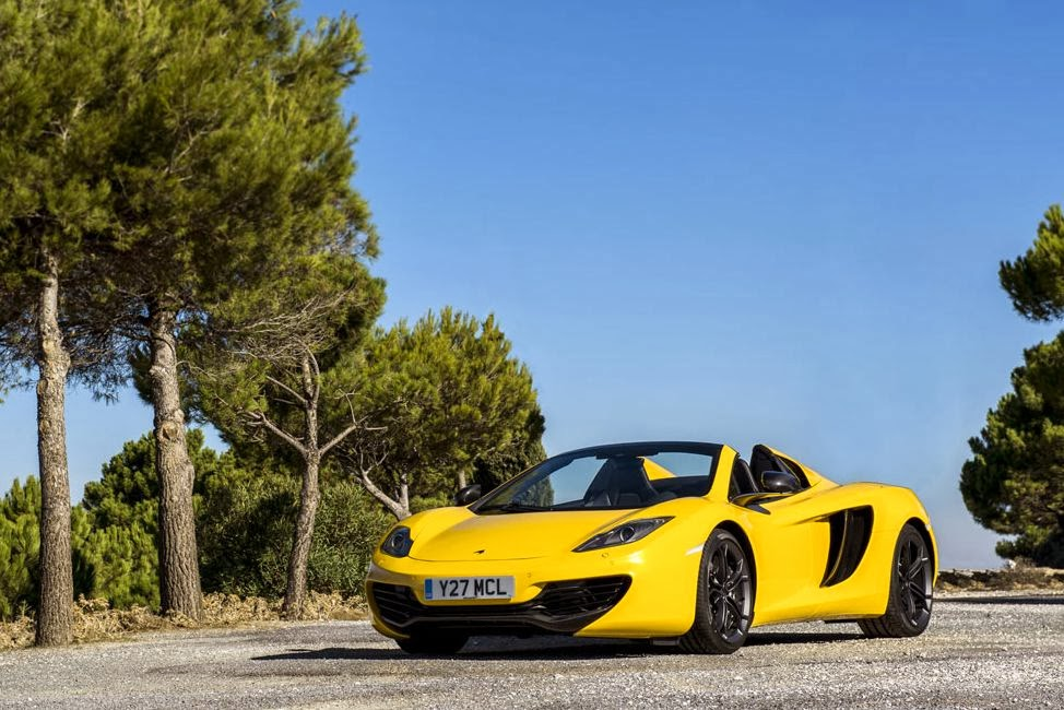 Mclaren Mp4 12c Spider 2013 Wallpapers