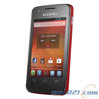 Alcatel One Touch 4030D Pop S Dual Sim Rojo