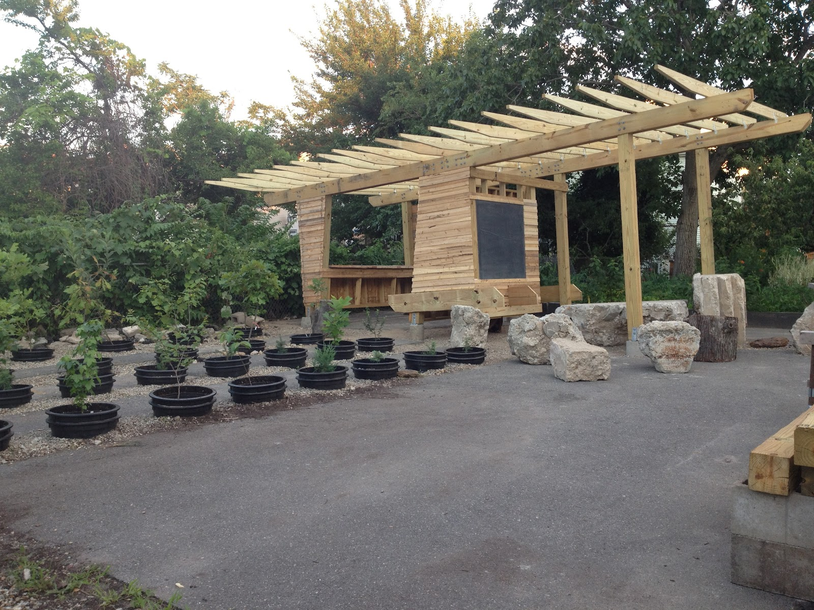 Outdoor Classroom Design ~ Downcity design s outdoor classroom a cabinet of our