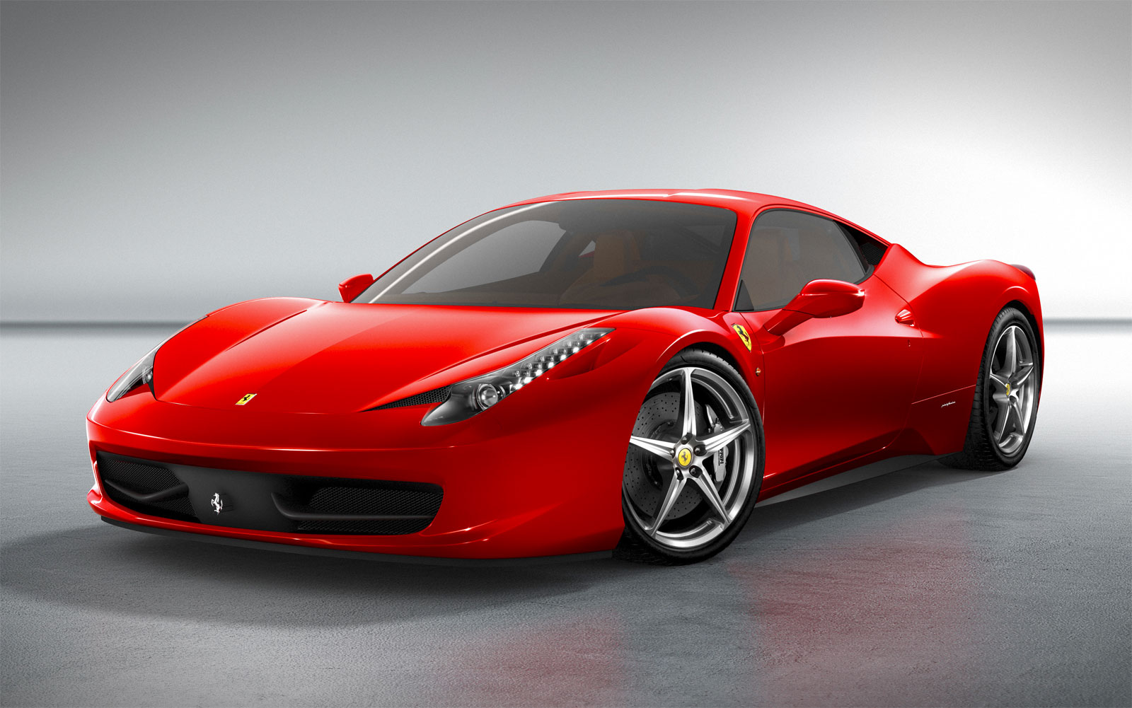 Sport Cars Ferrari 458 Italia Hd Wallpapers 2011