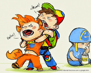Como a Internet Funciona - How Browsers Work - Google Chrome - Mozila Firefox - Internet Explorer - Fight - Luta - 1024x1280