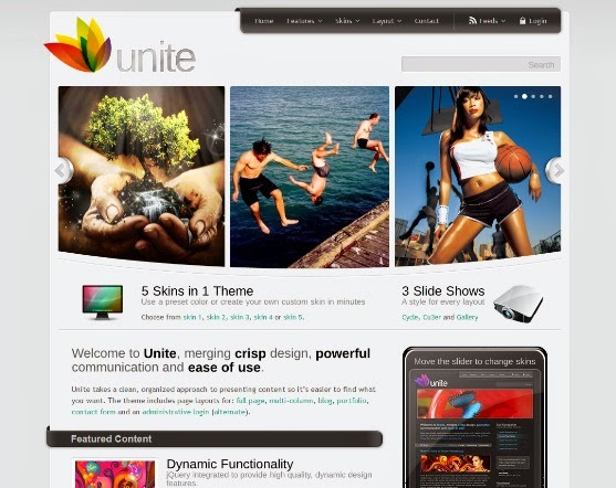 Unite - HTML Business Theme