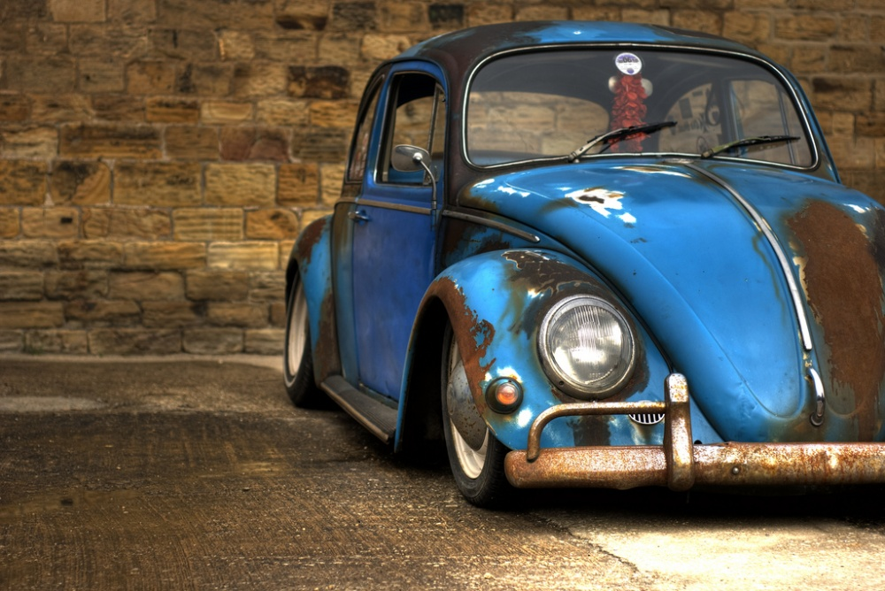 Auto Hot Rods: Fusca Rat Look.