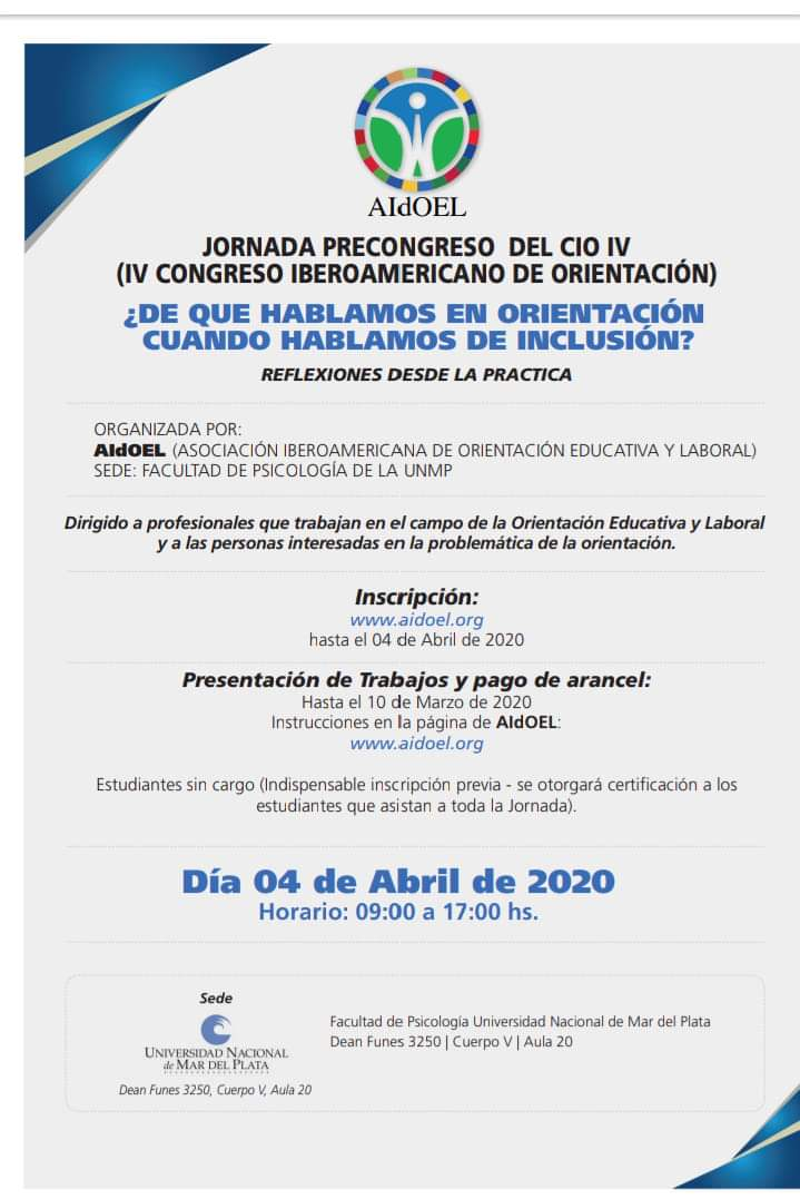 Jornada Precongreso CIO IV