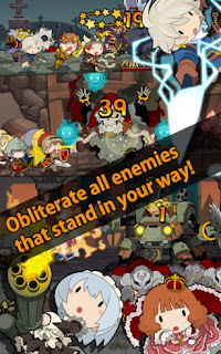 Screenshots of the Knights N Squires for Android tablet, phone.