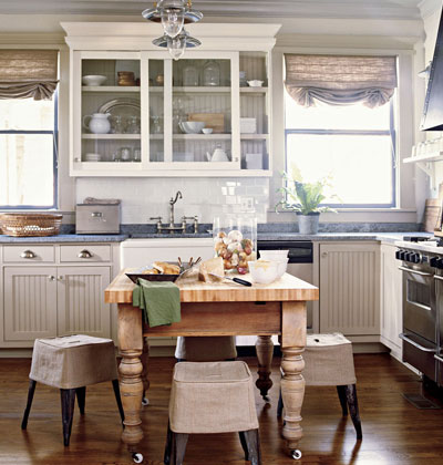 Lilly queen vintage cottage kitchen for Cottage kitchen designs