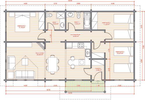 dibujar el plano de una casa imagui