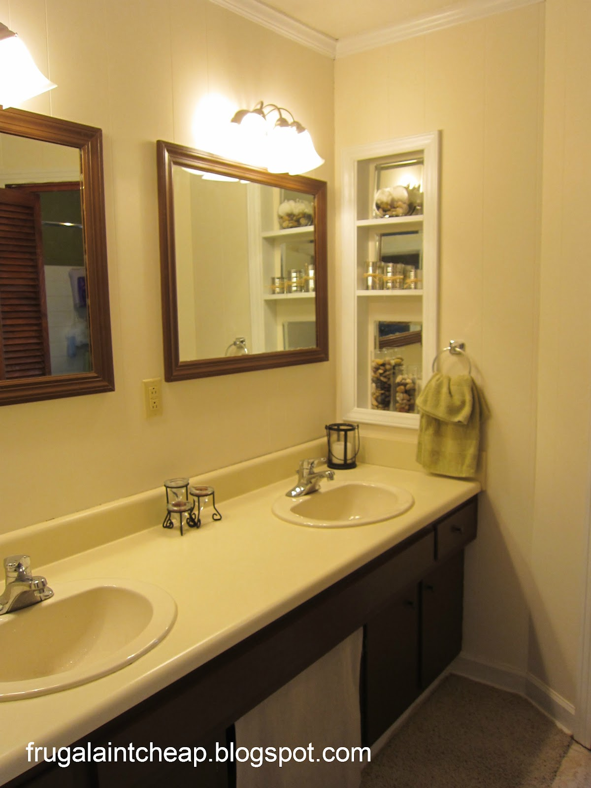 Frugal ain 39 t cheap bathroom remodel from 1966 to 2012 for Remodel a bathroom on a budget