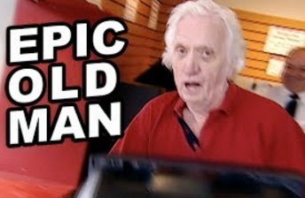 Funny Video – EPIC OLD MAN Pranks Young People