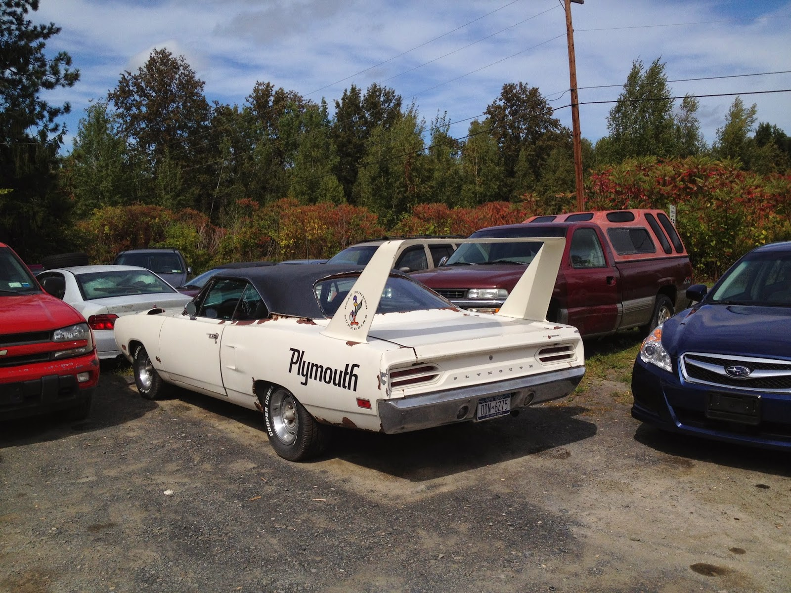 NYC Hoopties - Whips Rides Buckets Junkers and Clunkers: The holy ...