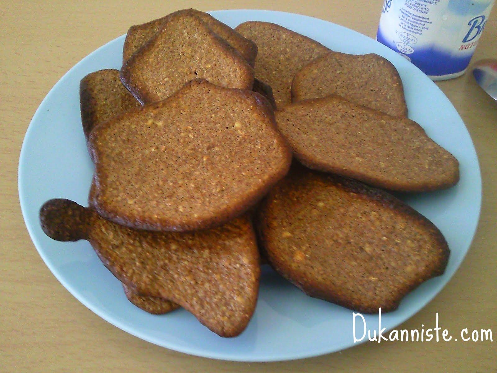 biscuits secs recettes dukan pour jeudi pp