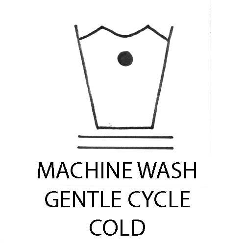 machine wash cold gentle cycle