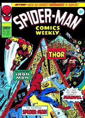 Spider-Man Comics Weekly #136