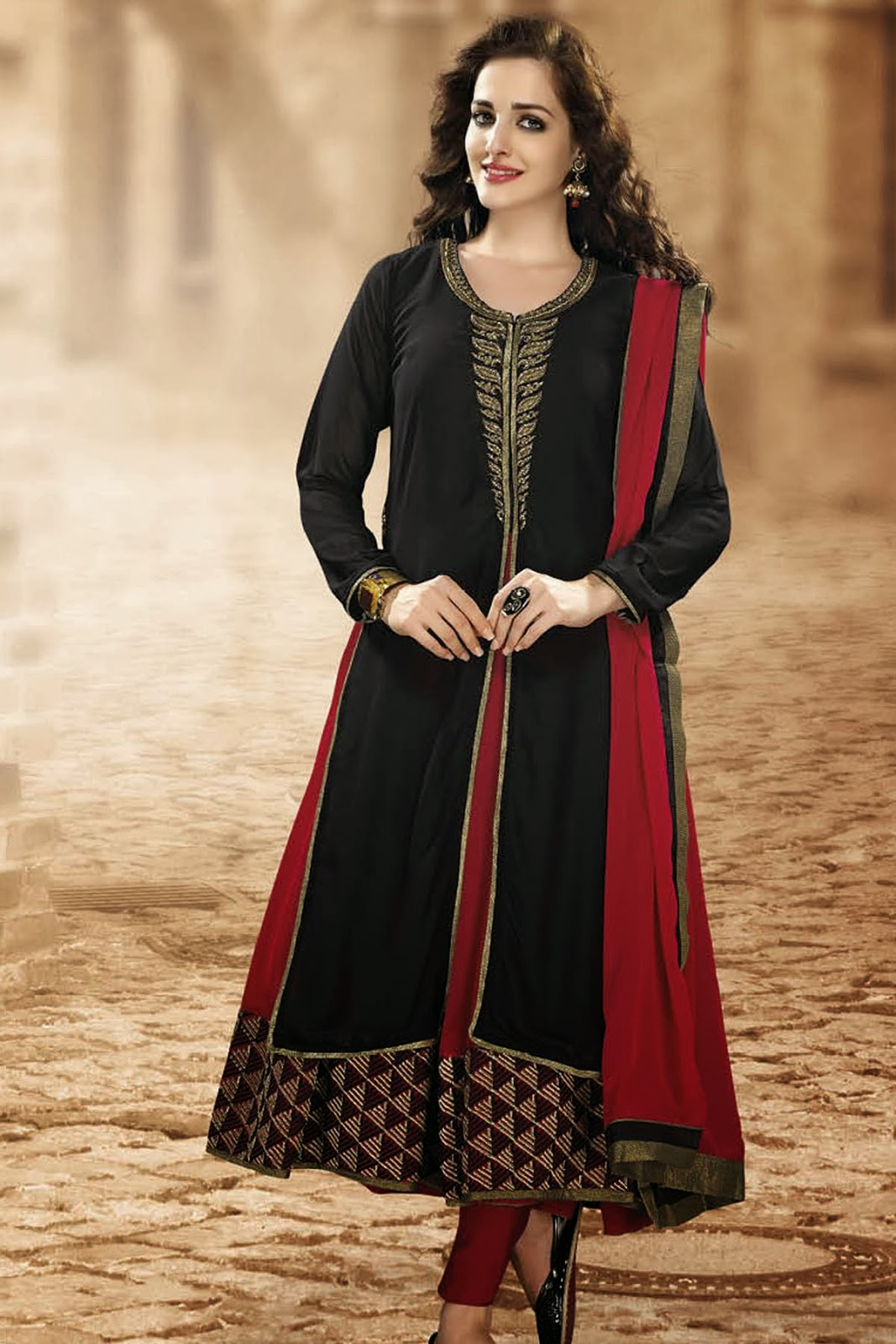 punjabi suites designs party wear 2014 salwar kameez