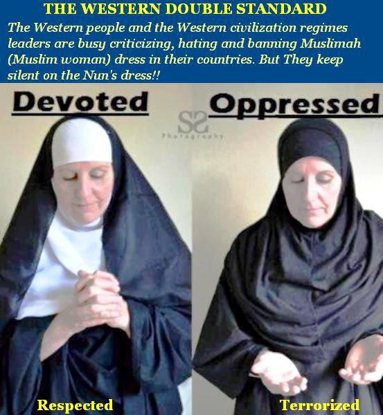 islam and western media Why hijab one of the many  islam has introduced hijab as part of the decency and modesty in  feminists and the western media often portray the hijab as a.