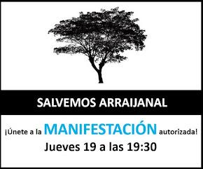 """Manifestación """"Salvemos Arrajainal"""""""