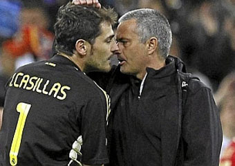 ¡Casillas y Mourinho se reencontraron!