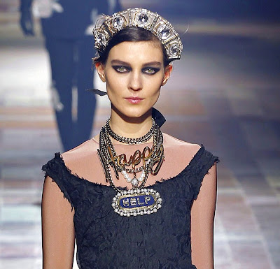 Lanvin Autumn/Winter 2013 necklaces