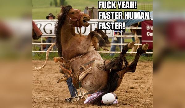 Caida desde un caballo